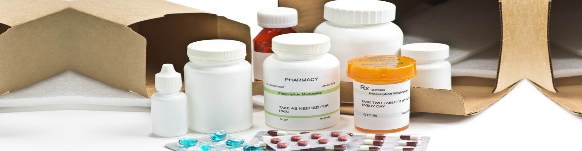 special packaging of medicines